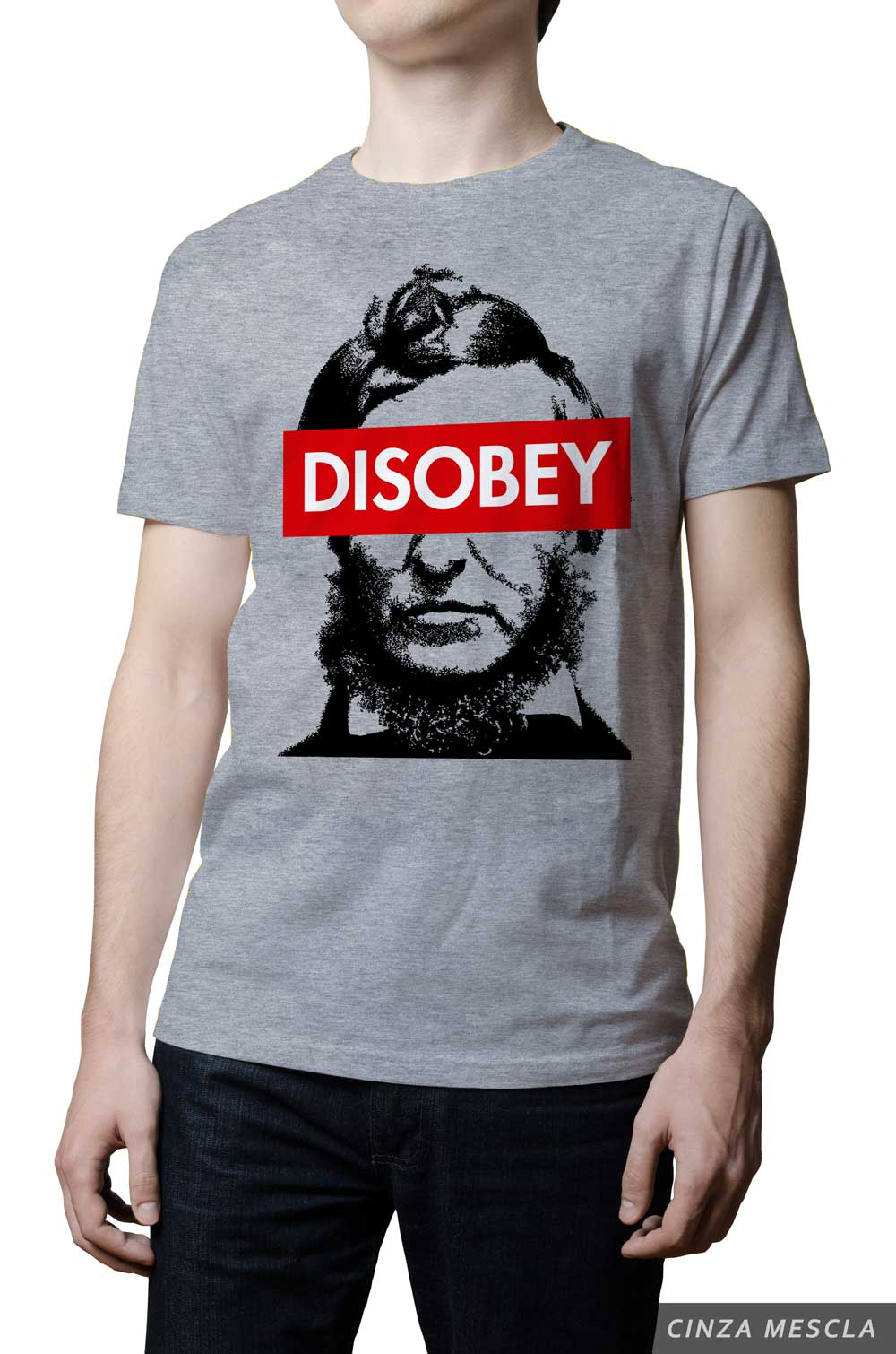 Camiseta - Thoreau - Disobey