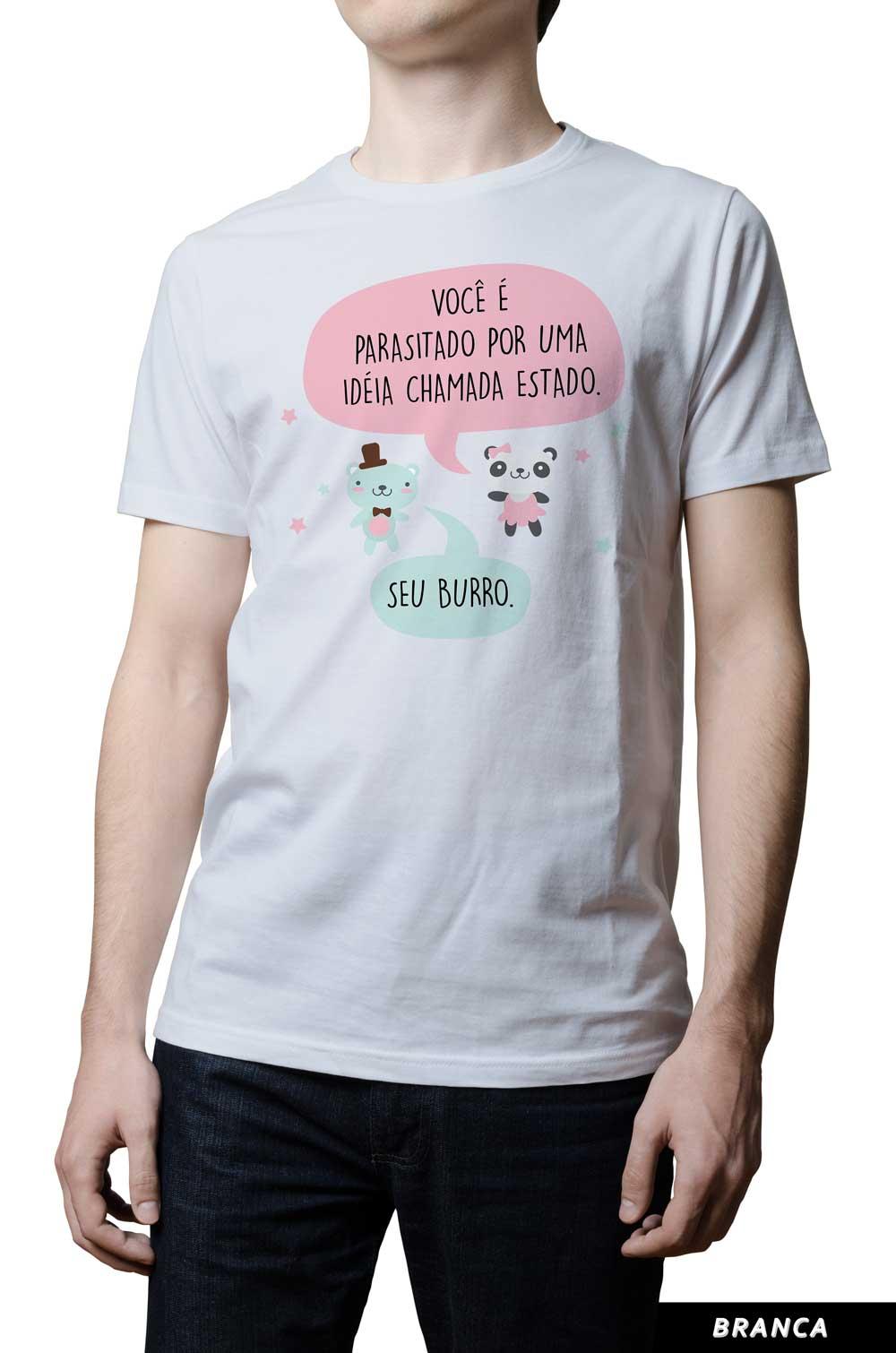 Camiseta - Ursinhos Libertários - Ideia Parasita