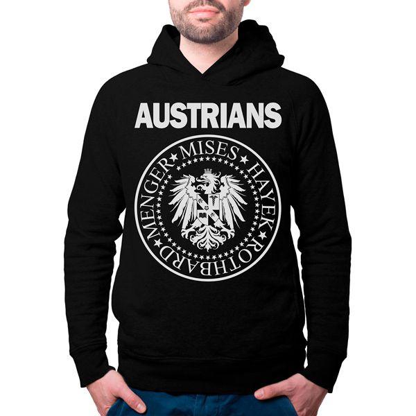 Moletom - Austrians (Escola Austríaca)