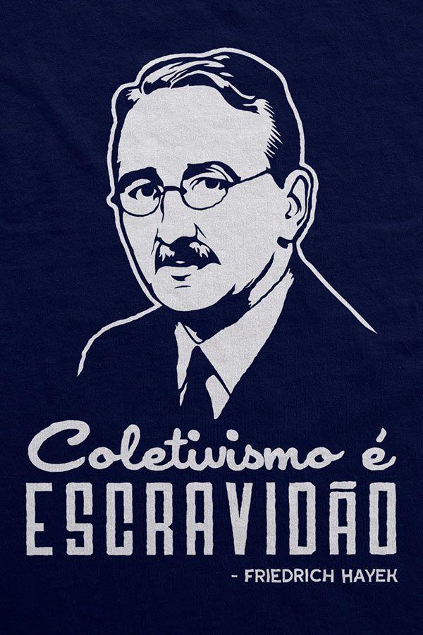 Moletom - Hayek - Coletivismo é Escravidão
