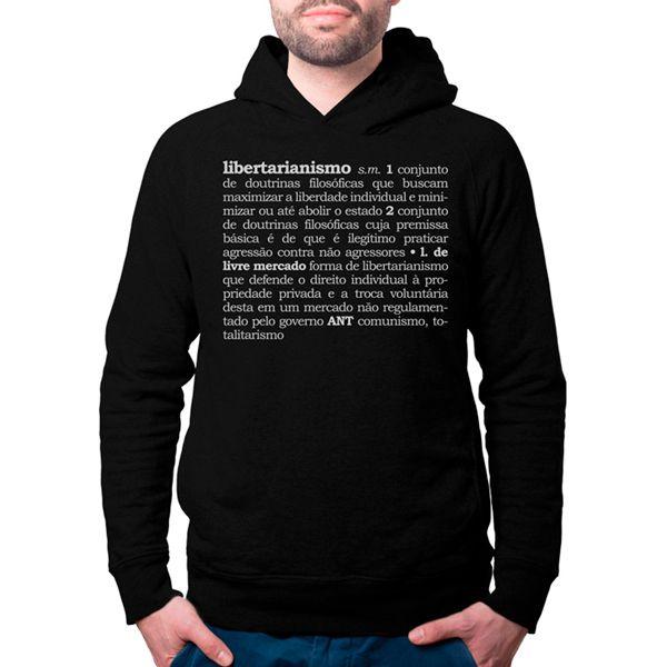 Moletom - Libertarianismo (Definição)