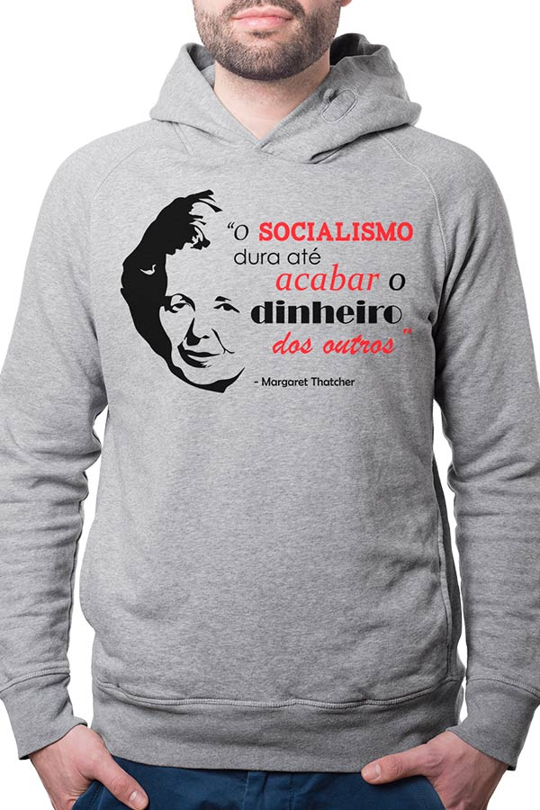 Moletom - Margaret Thatcher - Socialismo