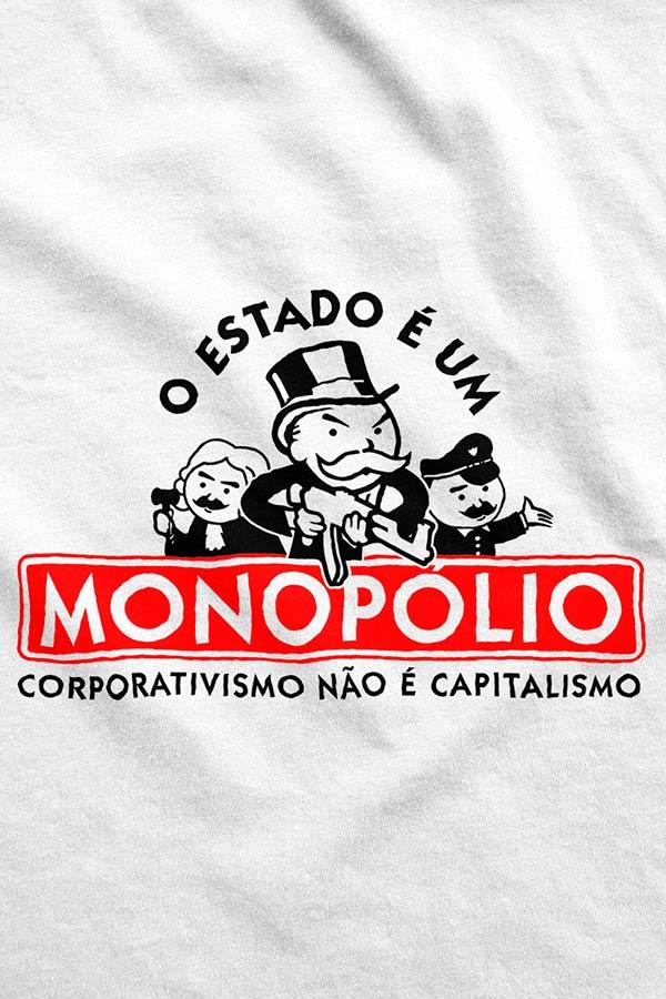 Moletom - O Estado é um Monopólio
