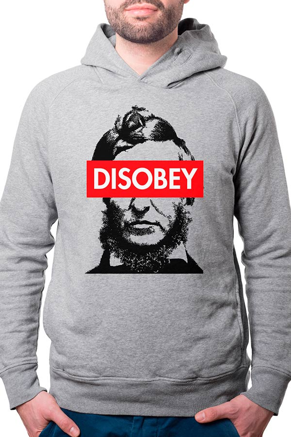 Moletom - Thoreau - Disobey