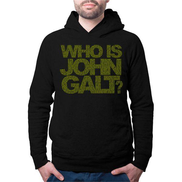 Moletom - Who is John Galt