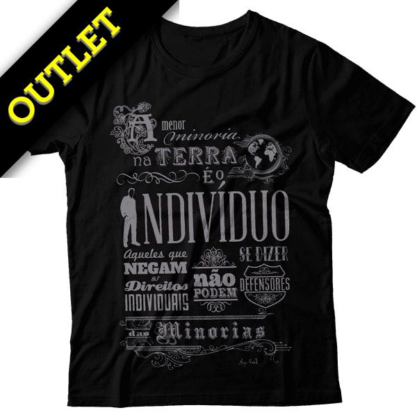 OUTLET - Camiseta Ayn Rand - Minorias