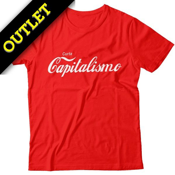 OUTLET - Camiseta Curta Capitalismo