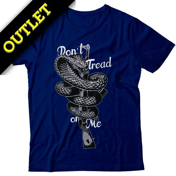 OUTLET - Camiseta Don't Tread On Me - Fuzil