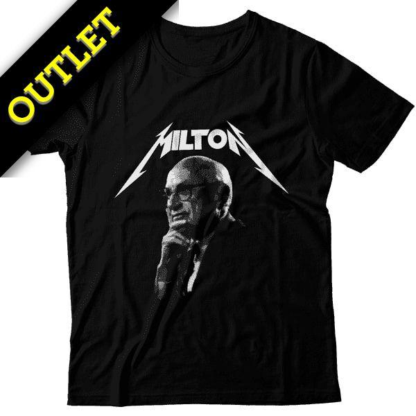 OUTLET - Camiseta Milton Friedman - Metal