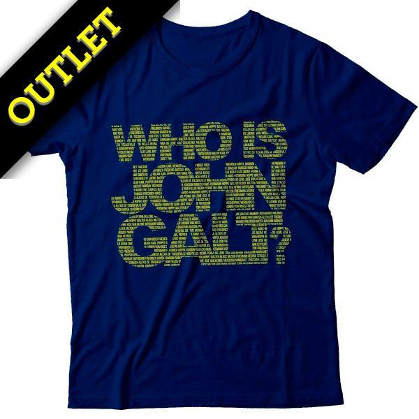OUTLET - Camiseta Who Is John Galt?
