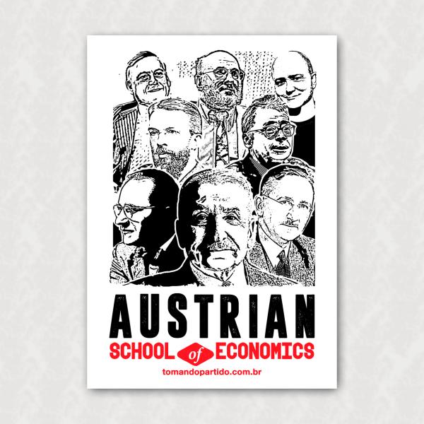 Placa  - Austrian School - Personalidades