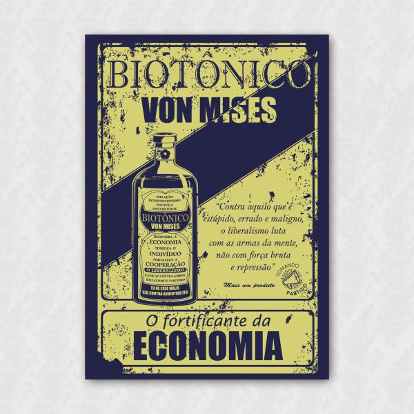 Placa - Biotônico Von Mises