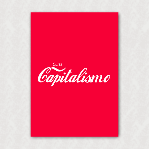 Placa - Curta Capitalismo
