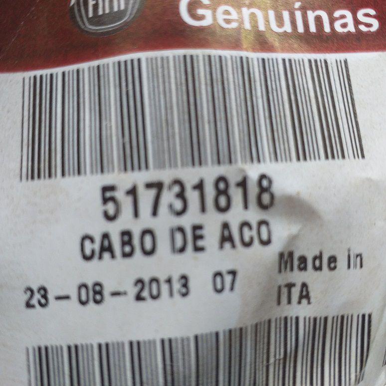 CABO COMANDO DOBLÓ 2002/2009 - PEÇA GENUÍNA FIAT