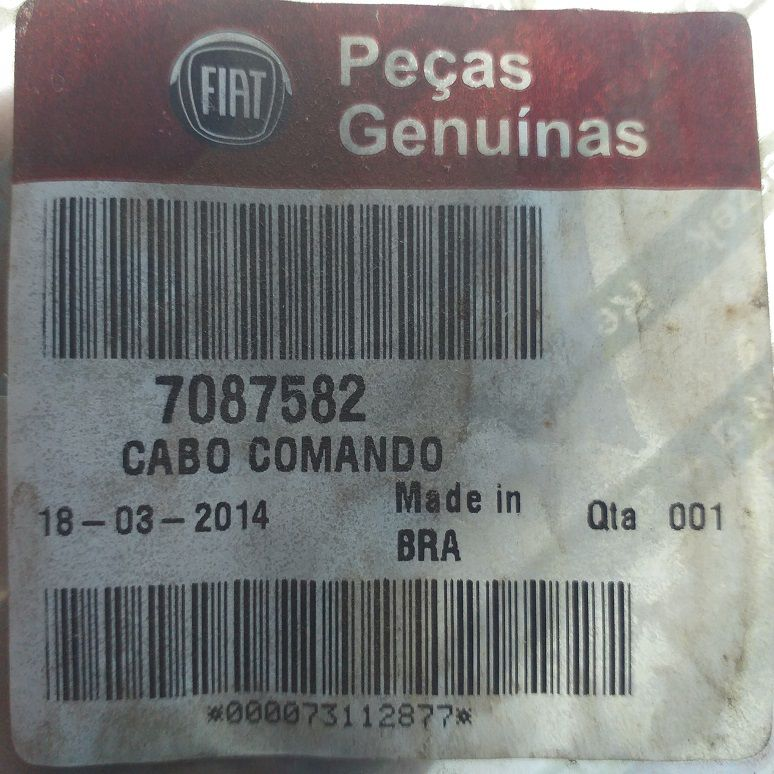 CABO COMANDO NOVO UNO 2011/2016, GRAND SIENA E MOBI