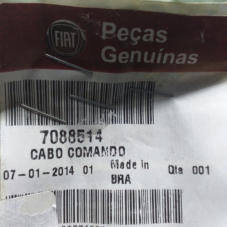 CABO COMANDO NOVO UNO E NOVO UNO FURGONETA 2011/2016