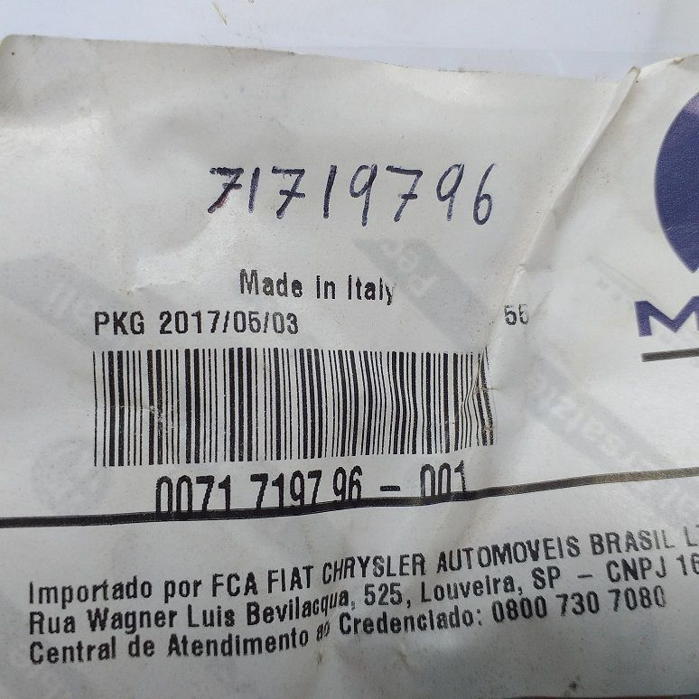CABO DE AÇO STILO 2003/2011 - PEÇA GENUÍNA FIAT