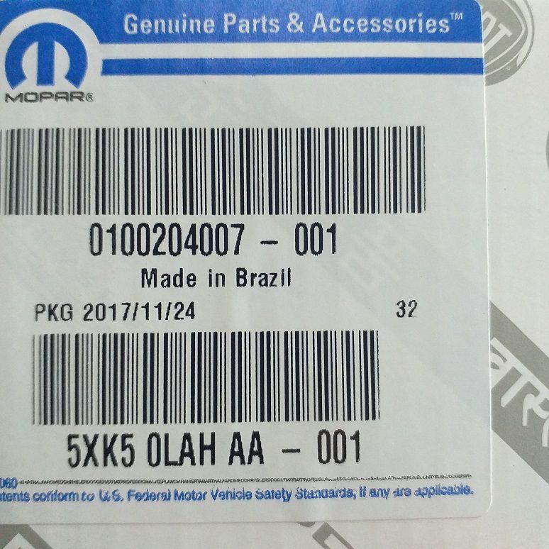 CJ ALAVANCAS STRADA 2013/2017 - PEÇA GENUÍNA FIAT