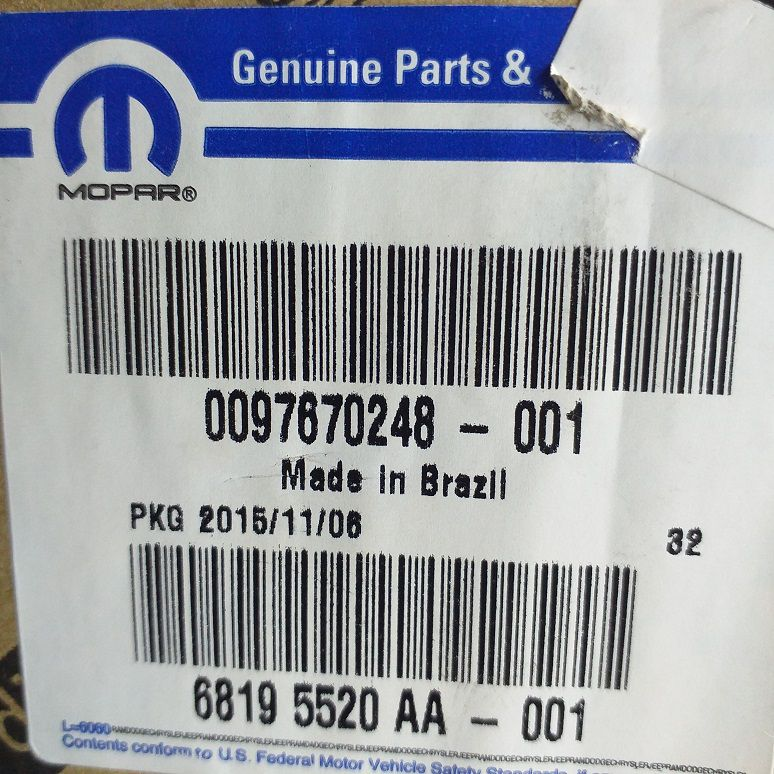 CJ RESERVATÓRIO - PEÇA GENUÍNA FIAT