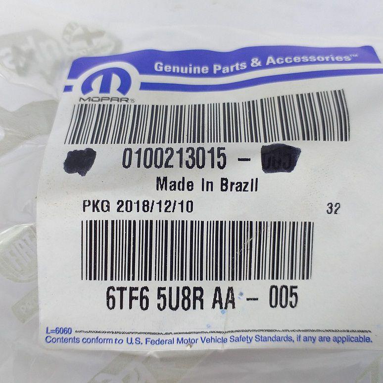 FRISO PARA-CHOQUE DIANTEIRO STRADA 2013 - PEÇA GENUÍNA FIAT