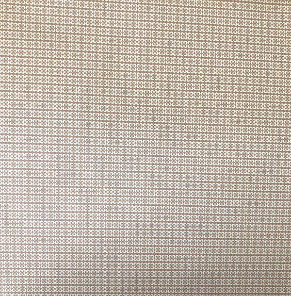 Papel Scrap - Geométrico 1 Bege - Oficina do Papel (0176014)