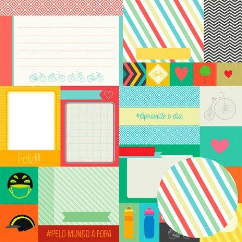 01.94.300 - CARDS 1 - PEDALANDO - OFICINA DO PAPEL