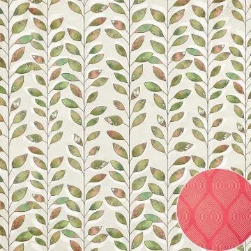 Papel Scrap - Folhagem - Coleção Jardineira - Oficina do Papel (0209600)