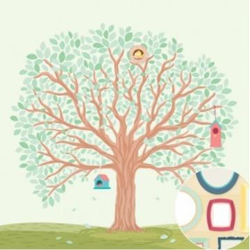 02.11.500 - A�rvore Genealogica - Nosso Ninho - Oficina do Papel