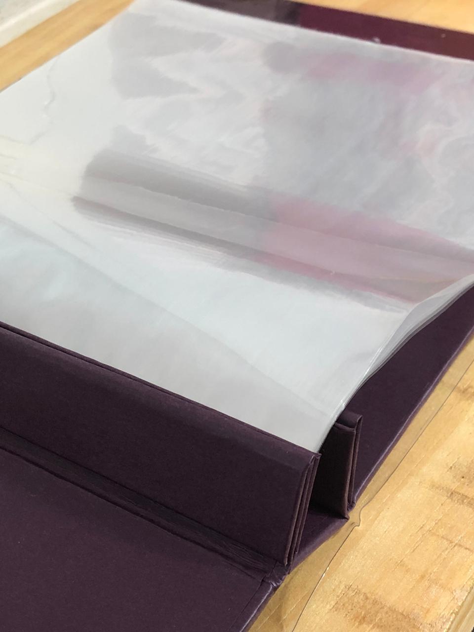 Album Scrapbook M Violeta - Oficina do Papel (0603004)