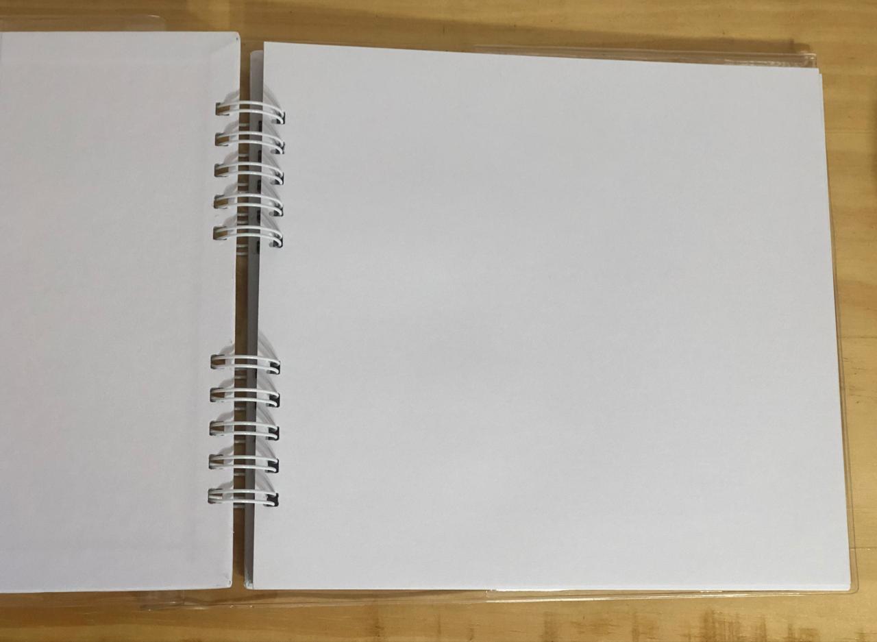 Álbum assinatura - Branco - Oficina do papel (0605100)