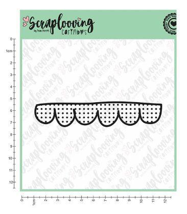 1009 - Cartela Scalloped Dots - Scraplooving