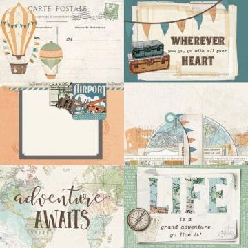 10459 - 4x6 Elements - Simple Vintage Traveler - Simple Stories
