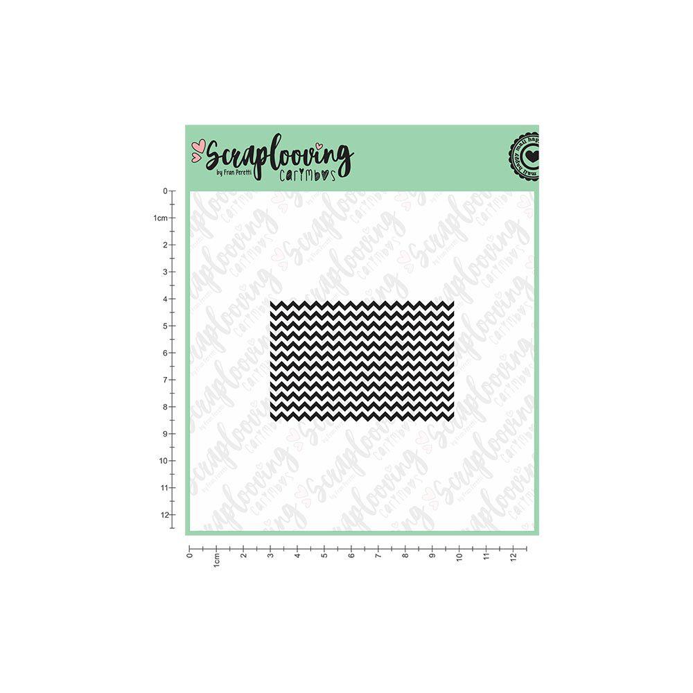 Carimbo Textura Chevron - Scraplooving (1092)