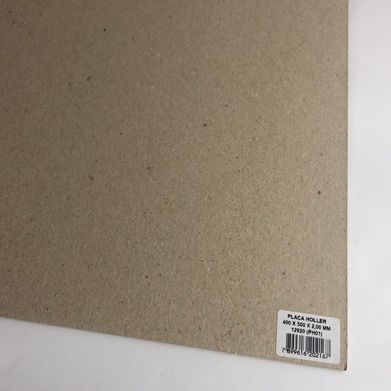 Placa Holler/Chipboard 2 mm - 40 x 50 cm