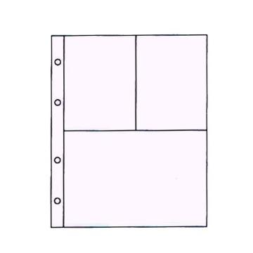 16154 - Refil Plástico Design 3 (c/ 10 un.)  - Scrap Momentos Pequeno - Toke e Crie