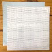 01.04.011 - Papel Scrap - Bolinha - Azul - Oficina do Papel