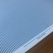 Papel Scrap - Listras Azul Royal - Oficina do Papel (0138023)