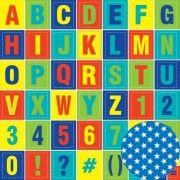 Papel Scrap - Alfabeto - Hora de Aprender - Oficina do Papel (0195200)