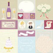 Papel Scrap - Detalhes - Felizes para Sempre - Oficina do Papel (0198200)