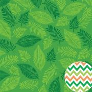 Papel Scrap - Tropical - Folhagens - Oficina do Papel (0208500)