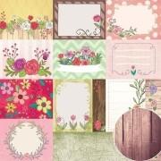 Papel Scrap - Jardineira - Coleção Jardineira - Oficina do Papel (0209100)