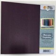 Álbum para Scrapbooking G - Violeta - Oficina do Papel (0604004)