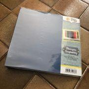 Álbum Scrapbooking G - Azul Marinho - Oficina do Papel (0604023)