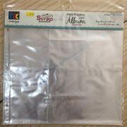 16152 - Refil Plastico Design D (c/ 10 un.)  - Scrap Momentos Grande - Toke e Crie