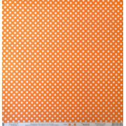 Papel Scrap - Poá Pequeno Laranja (KFSB454) - Toke e Crie (19995)