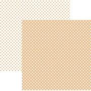Papel Scrap - Poá Pequeno Coral (KFSB463) - Toke e Crie (20004)