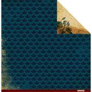 Papel Scrap - Coleção de Memorias - Família para Sempre - Juju Scrapbook (JJ20025)