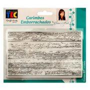 Carimbo Emborrachado - Madeira - Toke e Crie (20682)