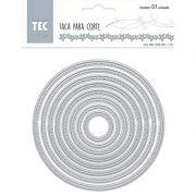 20907 - Faca para Corte Extra Grande - Círculo - Toke e Crie