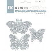 Faca de Corte Grande - Borboletas - Toke e Crie (20910)